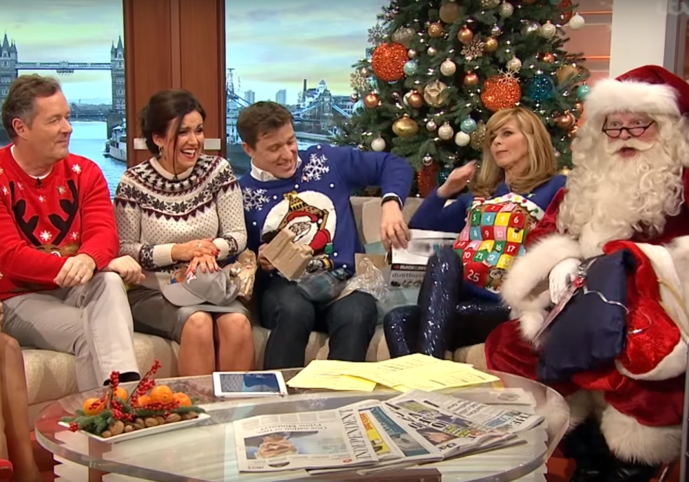 Santa on Good Morning Britain