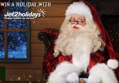 Win a Holiday with Jet2 Holidays and Santa